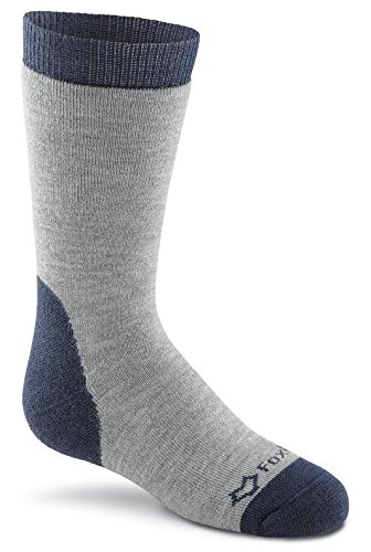 Fox River Kids Huron Wadenhohe Medium Gewicht Socken, unisex, grau (River Socken Fox Kids)