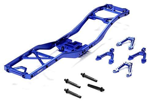 Integy RC Model Hop-ups C24857BLUE V2 Alloy Ladder Frame Chassis Kit for SCX-10 Dingo, Honcho & Jeep
