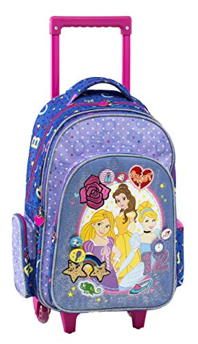 Princesse Disney Cartable , 44 cm, Violet