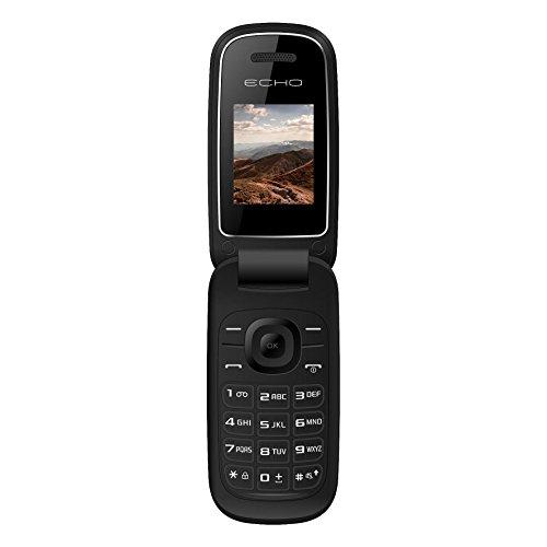 photo Echo CLAP Téléphone Mobile Flip Noir