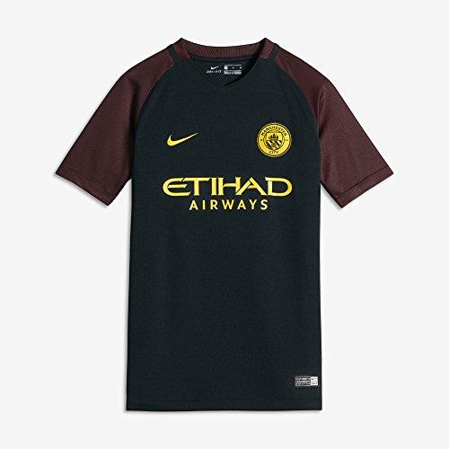 Nike Manchester City Yth Ss Aw Stadium Jsy - Camiseta...