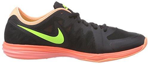 Nike Dual Fusion Tr 3 Damen Laufschuhe Schwarz (Black/Volt-Hot Lava-Lava Glow)