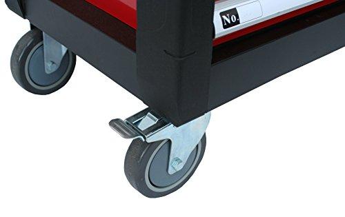 BD-Tools Werkstattwagen bestückt rot - 9
