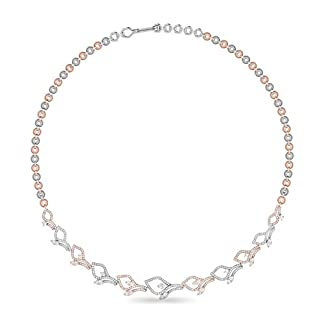 PC Jeweller The Torion 18KT White Gold and Solitaire Necklace for Women