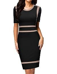MIUSOL Damen Business Pinup Kleid