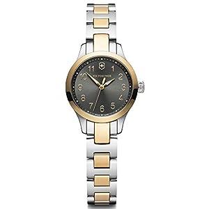 Victorinox Alliance Reloj para Mujer Analógico de Cuarzo con Brazalete de Acero Inoxidable V241841