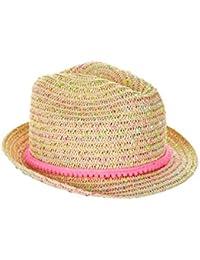 Accessorize Chapeau de paille moucheté Sherbet - Fille