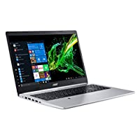 "‏‪Acer Aspire 5 Slim Laptop, 15.6"" Full HD IPS Display, 10th Gen Intel Core i5-10210U, 8GB DDR4, 256GB PCIe NVMe SSD, Intel Wi-Fi 6 AX201 802.11ax, Fingerprint Reader, Backlit KB, A515-54-59W2, Silver‬‏"