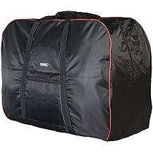 topnaca® 14–21pollici bicicletta pieghevole pieghevole bicicletta morbida custodia da viaggio per bicicletta, casi borsa per trasporto bicicletta, Black