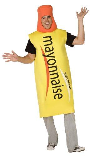 Mayonnaise-Kostüm für Erwachsene Einheitsgröße