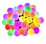 Le 100ER LED luce della sfera catena 10m multicolore 8modi con funzione Memory per feste, Natale, feste e matrimoni aeussere decorazione LED rgb