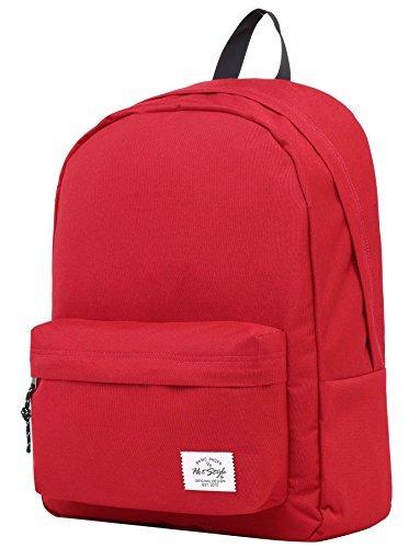 SIMPLAY Klassischer Schulrucksack Büchertasche | 44x30x12.5cm | Verschiedene Farben | Kastanienbraun (Bag Handtaschen Junior Army)