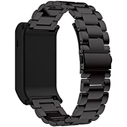 For Garmin vivoactive HR, Xinantime Metal Stainless Steel Watch Band Strap