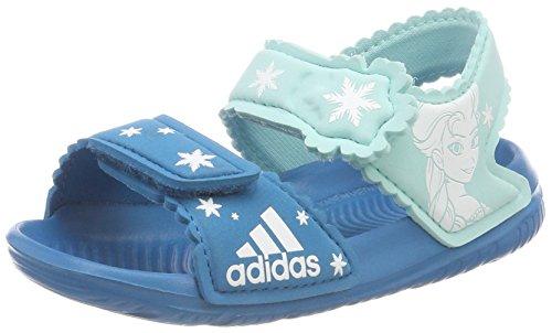 adidas Unisex Baby Dy Frozen Altaswim G I Sneaker, (Petmis/Ftwbla/Aquene), 22 EU