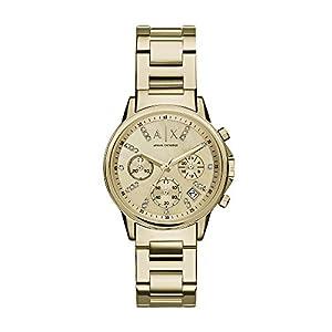 Armani Exchange Reloj Cronógrafo para Mujer de Cuarzo