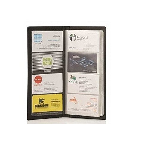 A S P SPS Visiting Card Holder (480 Folder) (Black)