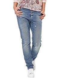 Object Damen Boyfriend Jeans Denim Antifit Used Look