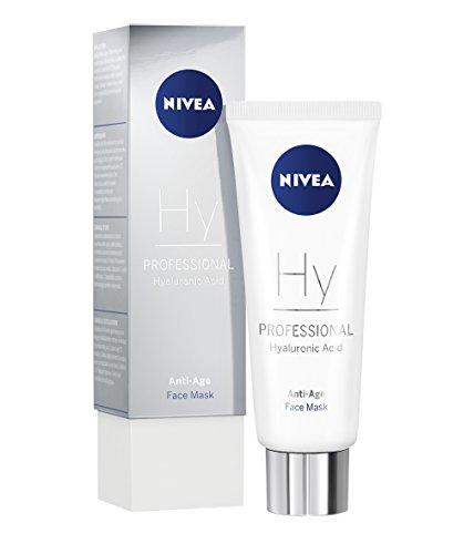 NIVEA PROFESSIONAL Hyaluronsäure Gesichtsmaske, Hyaluron Maske Anti-Aging Pflege, 1 x 75 ml (Hyaluronsäure Gesichtsmaske)