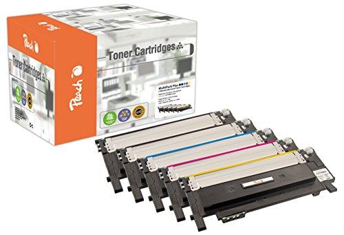 Preisvergleich Produktbild Peach Spar Pack Plus Tonermodule kompatibel zu Samsung CLT-406S