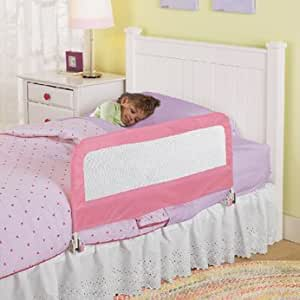 summer infant barri re de lit pliable rose b b s pu riculture. Black Bedroom Furniture Sets. Home Design Ideas
