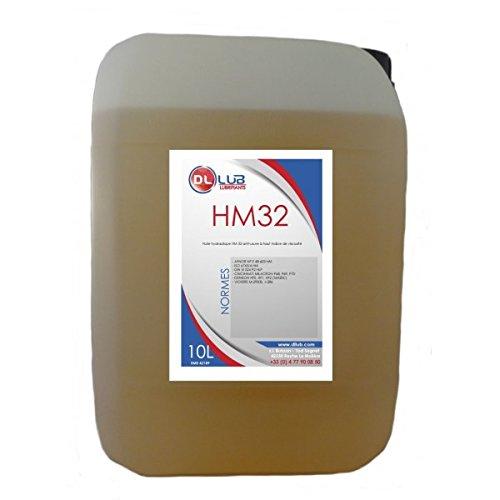 DLLUB – HUILE HYDRAULIQUE HM 32 – 10 litres pas cher