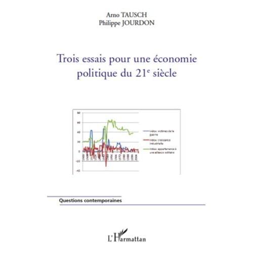 Trois essais pour une économie politique du 21e siècle (Questions contemporaines)