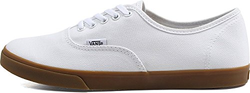 Vans - Adulte-Unisexe authentiques chaussures Lo Pro (Light Gum) True White