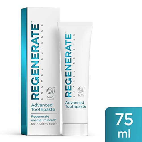 REGENERATE DENTIFRICIO 75 ml PER RIGENERARE LO SMALTO DENTALE.