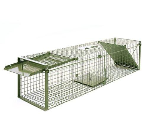 *KrapTrap® Marderfalle Tierfalle Katzenfalle Lebendfalle 116 x 29 x 29 cm*