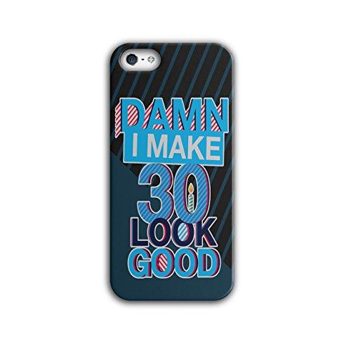 30 Jahre Alt Glücklich Geburtstag iPhone 5 / 5S Hülle | (Jahre Kostüme Cool Alt Halloween 11)
