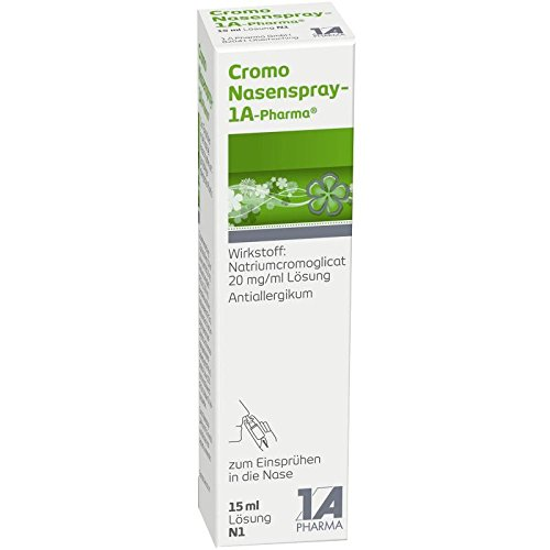CROMO Nasenspray-1A Pharma 15 ml Nasenspray preisvergleich