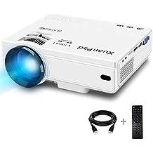 XuanPad Mini Projector 2400 Lumens Portable video-projector