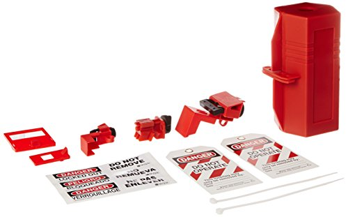 Brady 95547tragbar Lockout Kit, Befüllen, Elektro-, grau