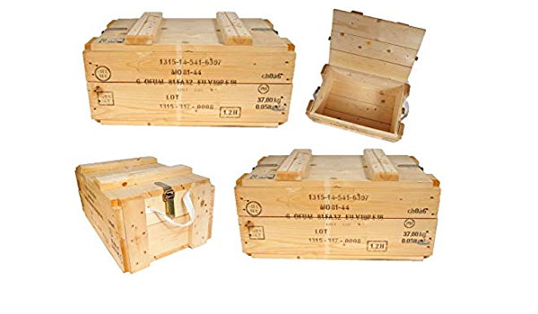alte Kiste Holz 15 x 28 x 6,5cm Transportkiste Aufbewahrung Messwerkzeug