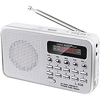 Music 60 Empfangsstarkes Radio im modernen Design (White)