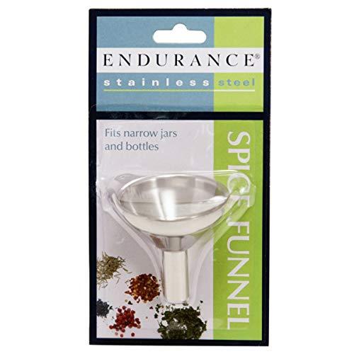 RSVP Herb/Spice Funnel Fill Small Bottles Jars Stainless Steel Endurance S-FUN Rsvp Endurance Spice