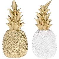 B Blesiya 2pcs Fruta Artificial de Piña, Accesorios de Decoración de Casa Tienda de Color