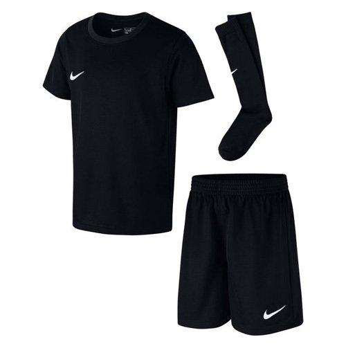 Nike Kinder Park Kit Trikotset, Schwarz (Black/White), L (116-122)