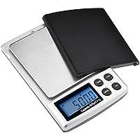 ZHANGYUGE La precisión del pesaje balanzas de Cocina Mini Pocket gram balanza Digital electrónica Joyería Escala