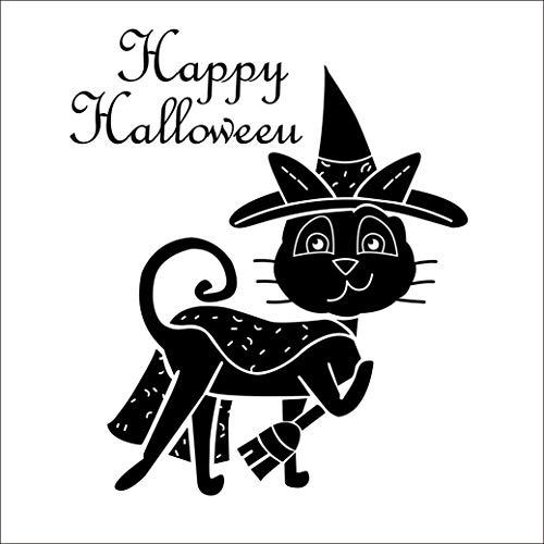Boodecal Halloween Wand Aufkleber Fenster Aufkleber Halloween Dekorationen für Kinder Zimmer Kinderzimmer Party 1