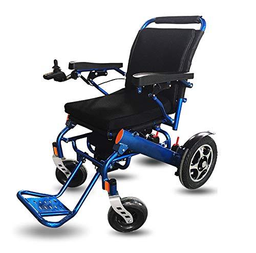Wheelchairs Falten und Reisen Leichte Motor Electric Power Rollstuhl-Scooter, Travel Safe Elektro-Rollstuhl Heavy Duty Elektro-Rollstuhl -