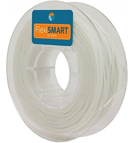 250 g. Natural FlexiSMART Flexibel filament TPU für 3D-Drucker 1.75 mm - Flexible filament for 3D printing - TPE filament, TPU filament, elastic filament
