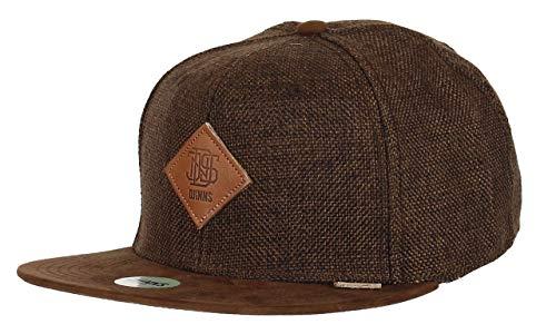 Djinns Herren Snapback Caps 6p Suelin braun Verstellbar
