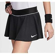 Nike G NkCourt Flouncy Falda, Niñas, Negro (Black/White), ...