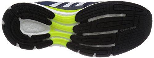 adidas Supernova Glide Boost 7 Herren Laufschuhe Blau (Collegiate Navy/Ftwr White/Solar Yellow)