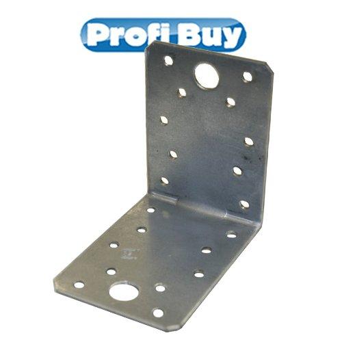 Winkelverbinder ohne Sicke | 105x105x90mm VE = 10 Stück | feuerverzinkt | ETA-09/0133