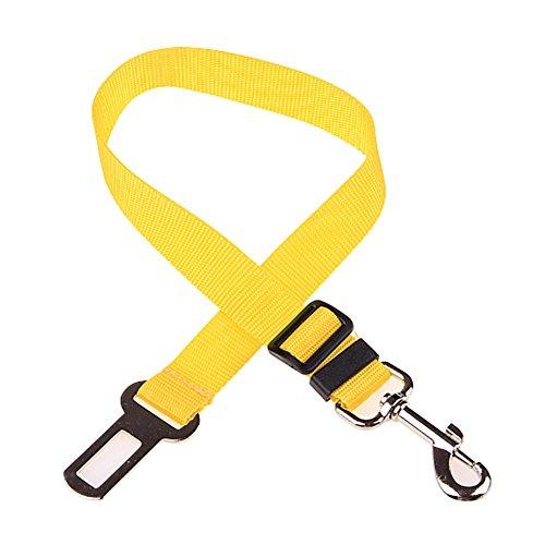 PanDaDa Dog Seat Belt Harness Zurückhaltung Einstellbare Sicherheit Durable & Compatible Nylon Haustier Hundeleine Lead Travel Clip