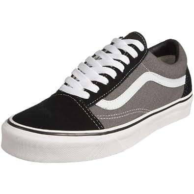 Vans Old Skool 2 - Zapatillas de skate para hombre, color negro, Negro (BLACK/PEWTER), 36