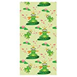 LimeWorks Children Bath Towel, 70x140 cm, Frog Princess