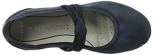 Marco Tozzi Cool Club 42200, Mary Jane Fille Bleu (Navy Antic 892)